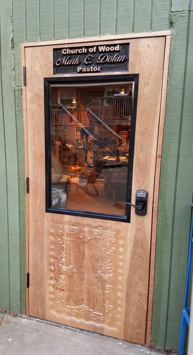 Custom Cherry Door In Exterior 450 Gloss General