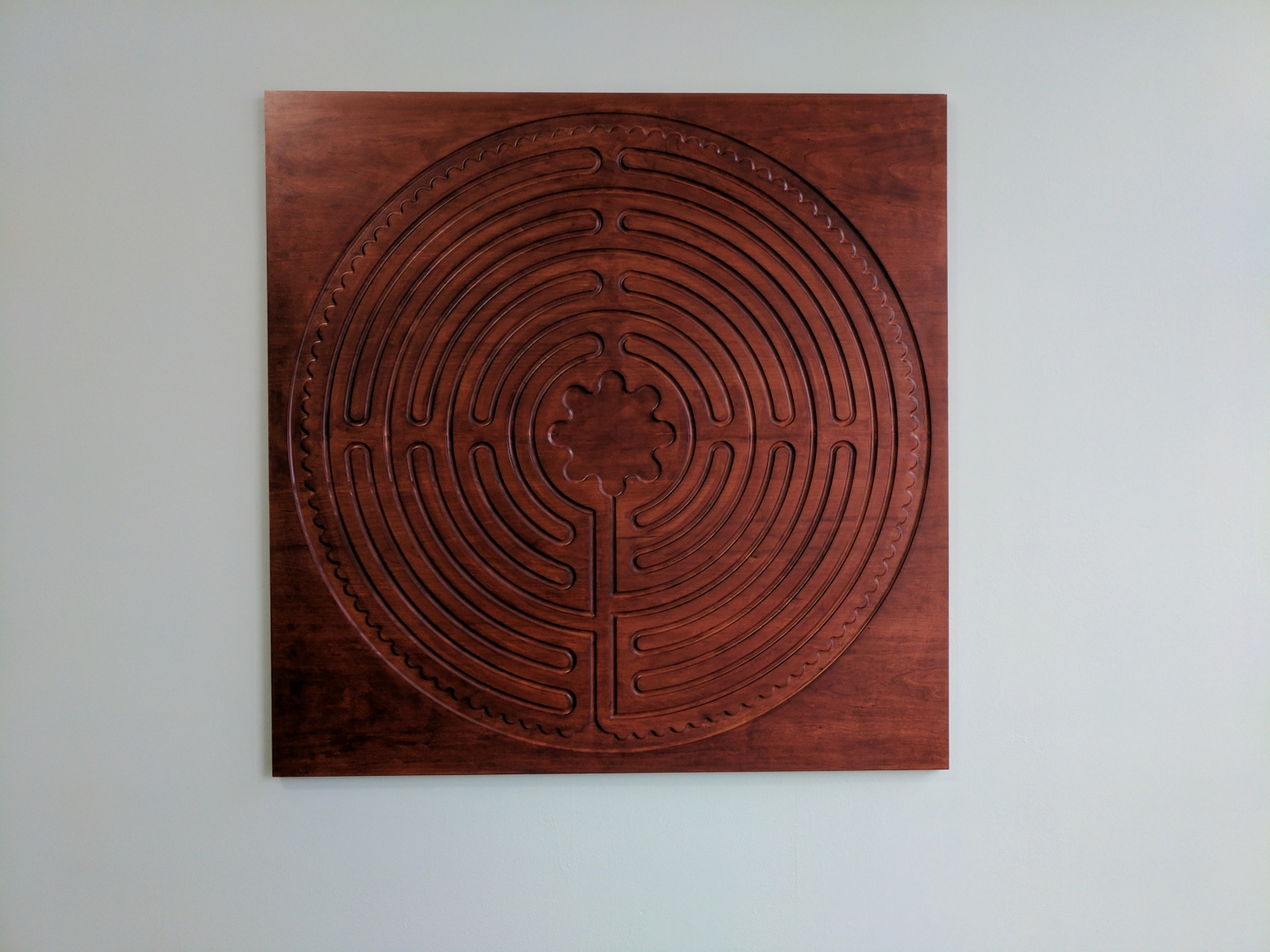 Labyrinth On Wall General Finishes Design Center