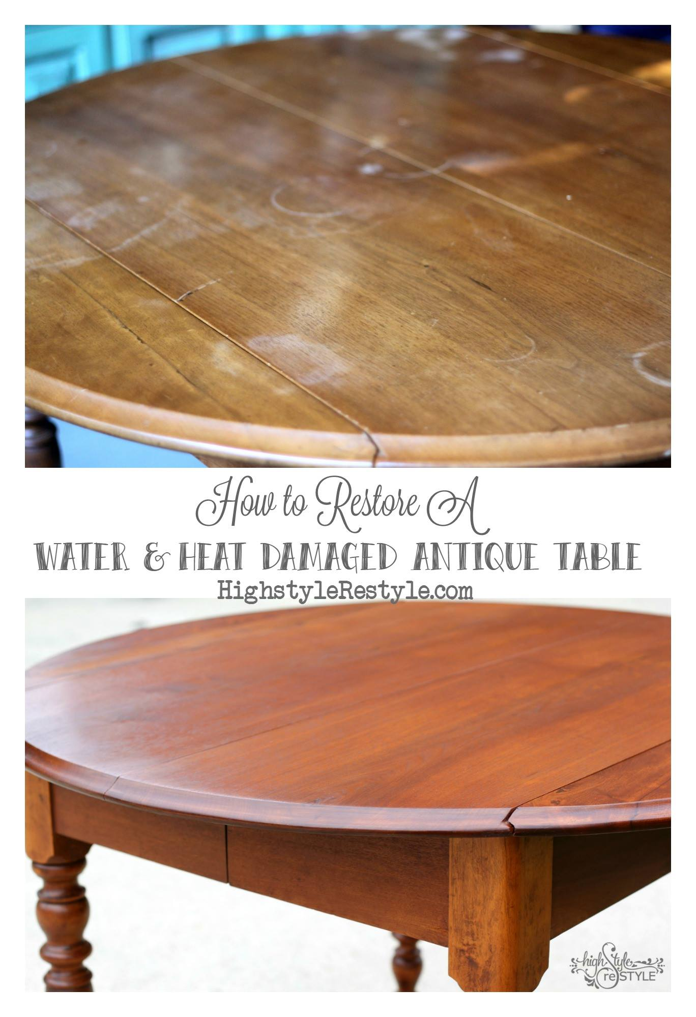 Oil based liquid wipe on penetrating wood stains general finishes table restored with candlelight oil based liquid stain nvjuhfo Image collections