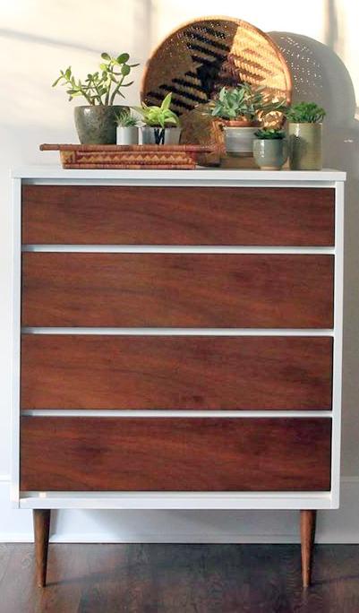 Mcm Brown Mahogany Dresser General Finishes Design Center