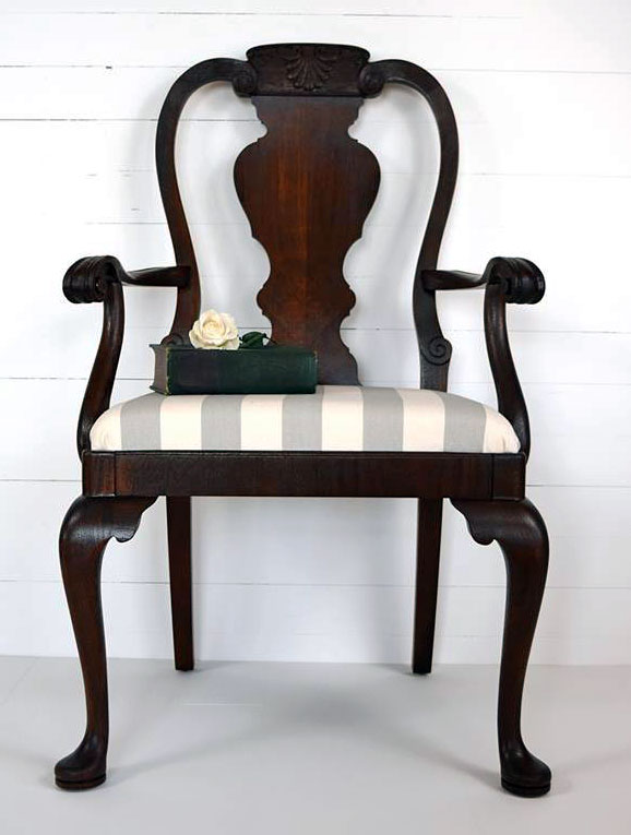 - Antique Walnut Queen Anne Chair General Finishes Design Center