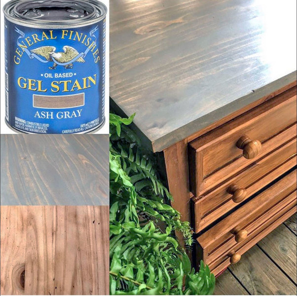 ash gray gel stain general finishes design center