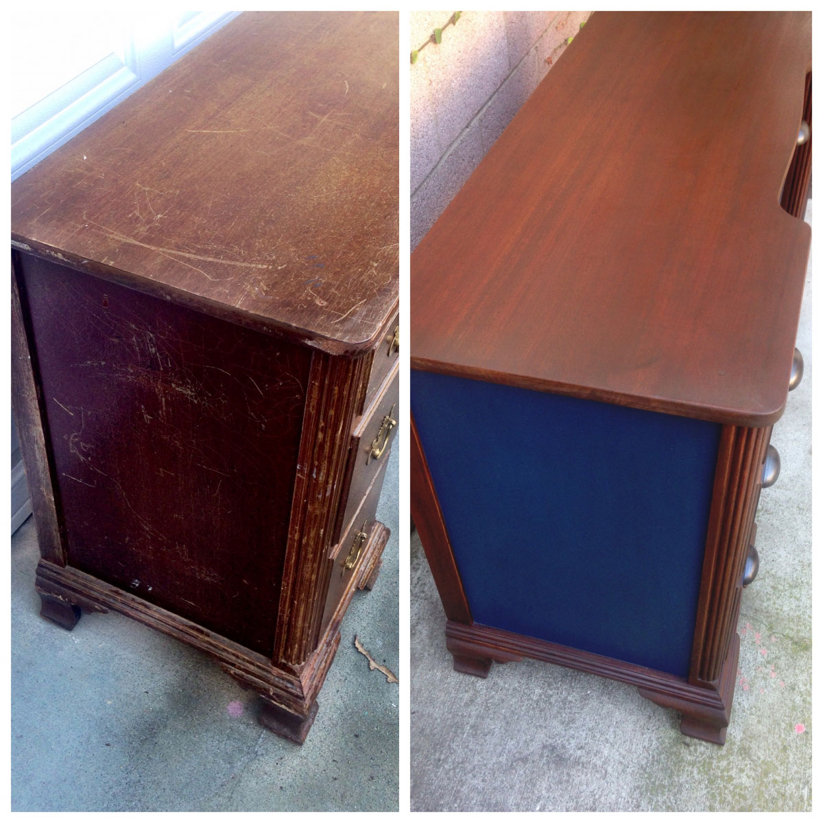 Dashing Desk In Antique Walnut Gel Stain General