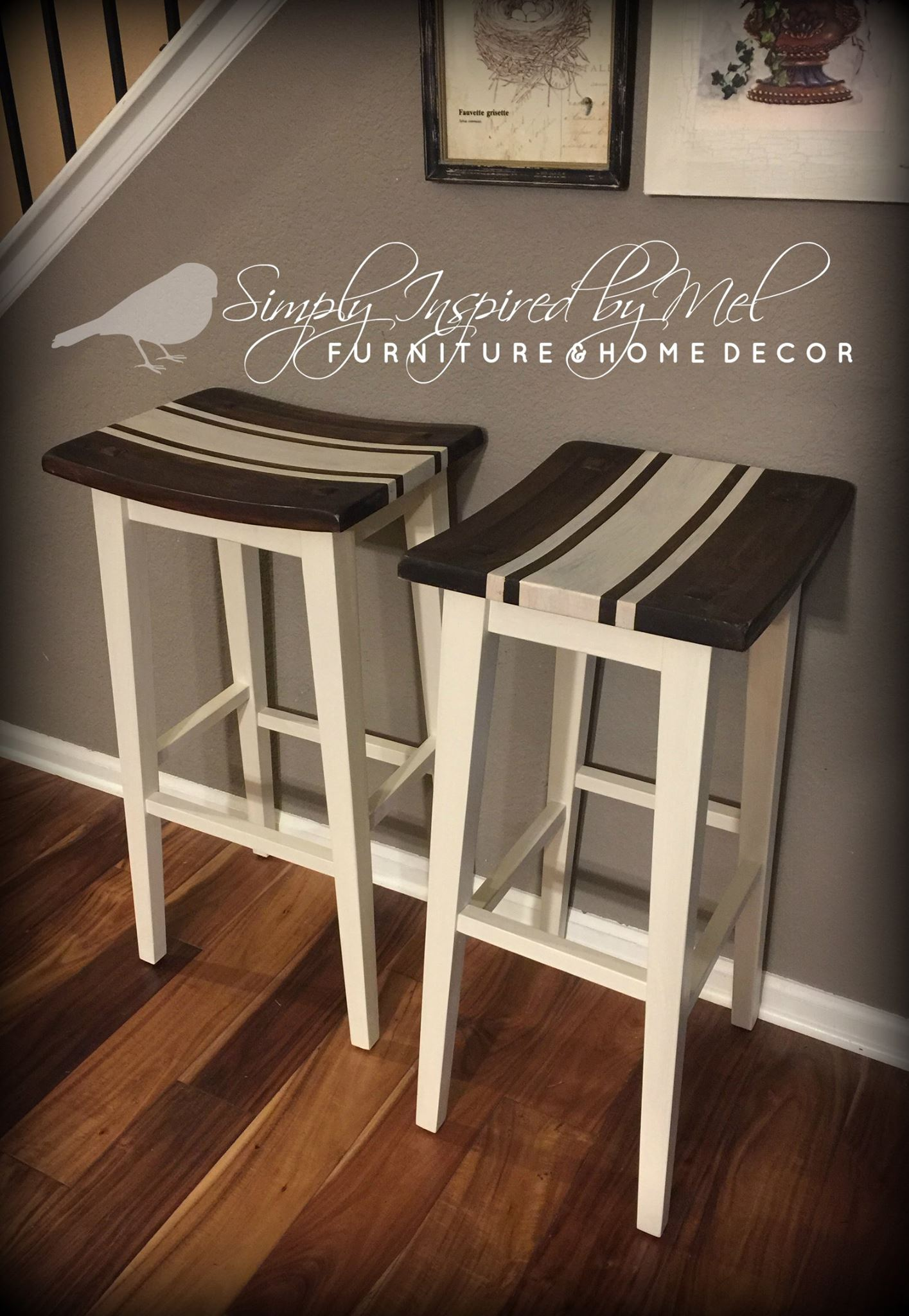 Farmhouse Bar Stools In Java Gel Stain General Finishes