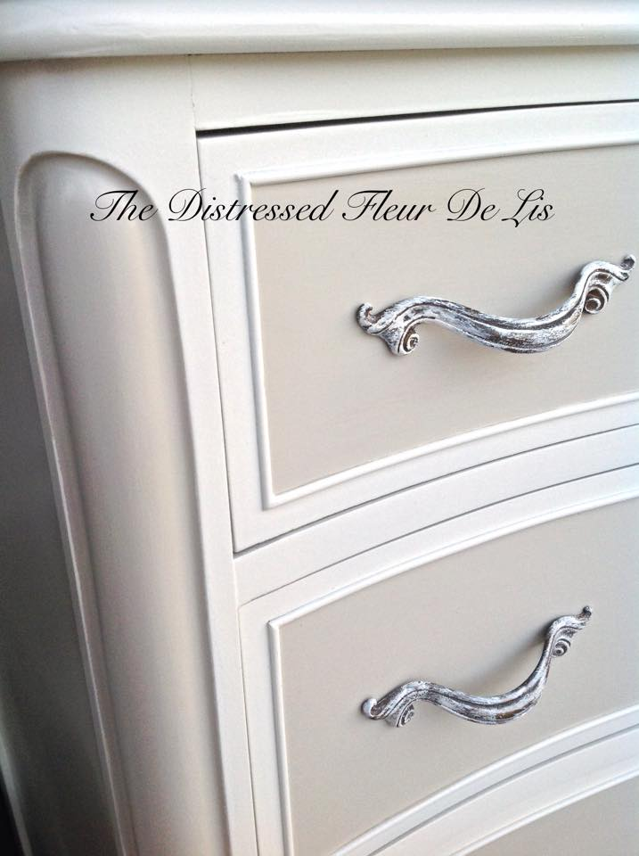 Two Toned Drexel Touraine Bedroom Set General Finishes