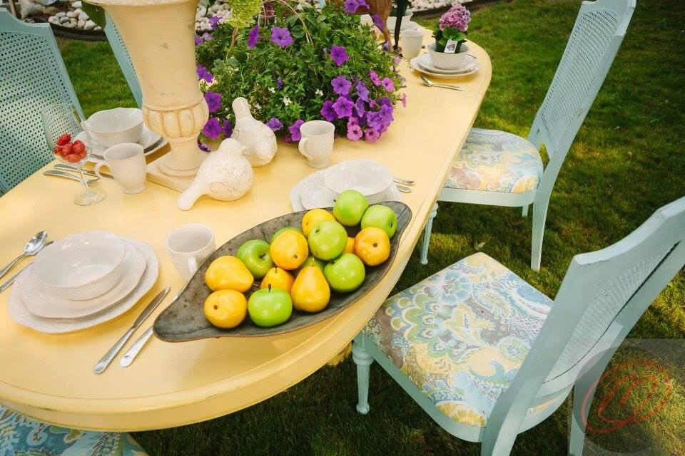 Buttermilk Color Kitchen Table