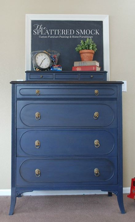 Rustoleum Chalk Paint Coastal Blue