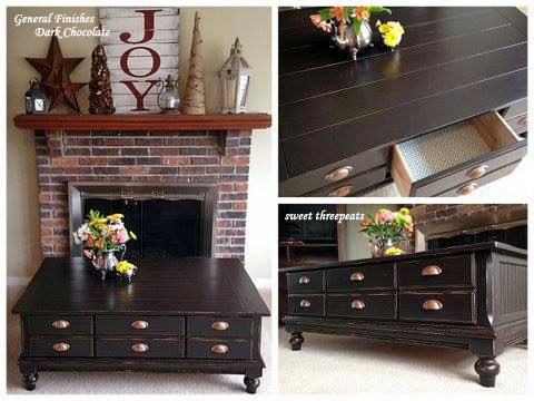 Dark Chocolate Milk Paint Cabinets Finishes