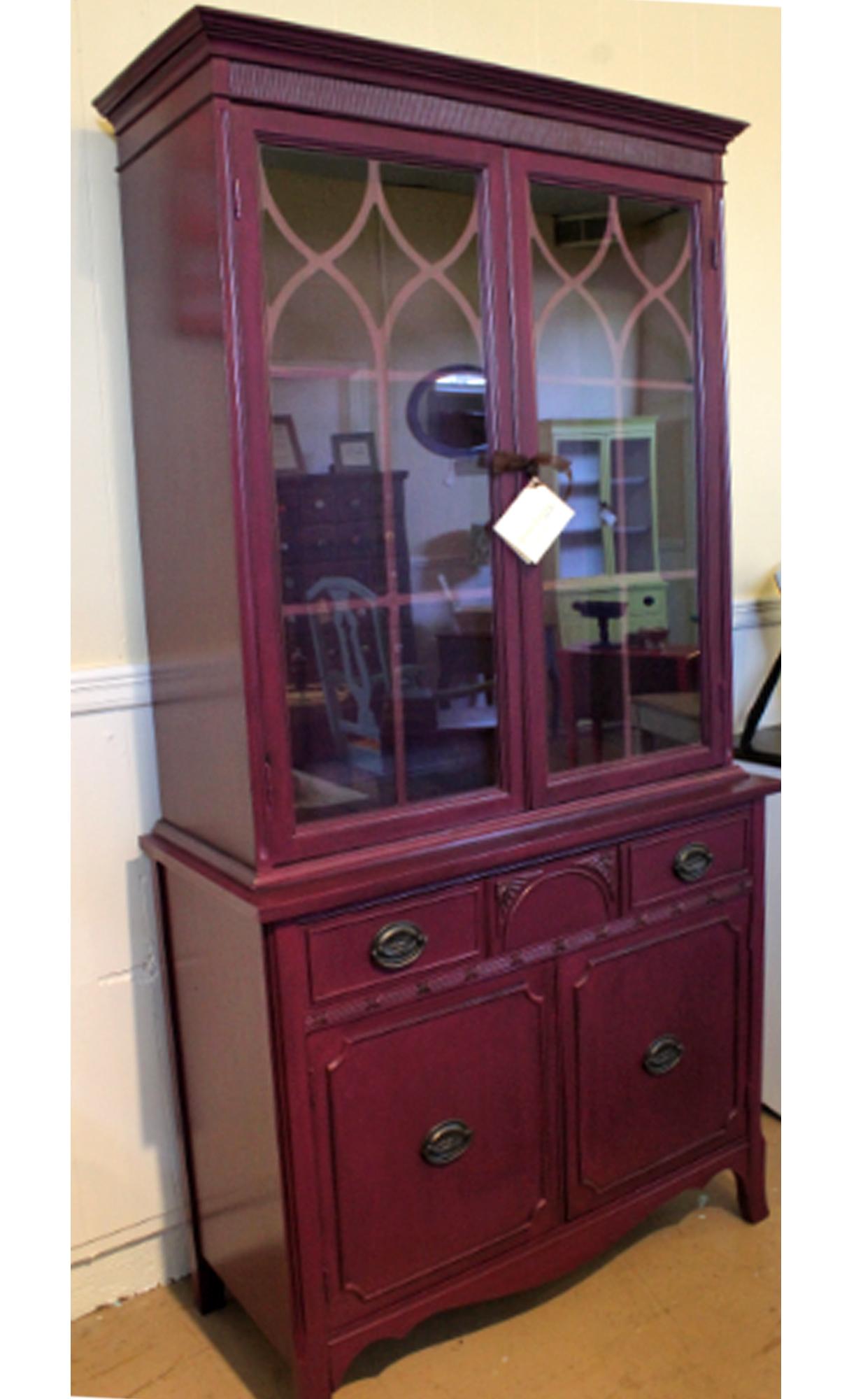 elegant evening plum cabinet general finishes design center. Black Bedroom Furniture Sets. Home Design Ideas