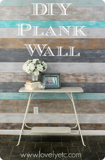 Diy Plank Wall With Gf Milk Paint Colors General