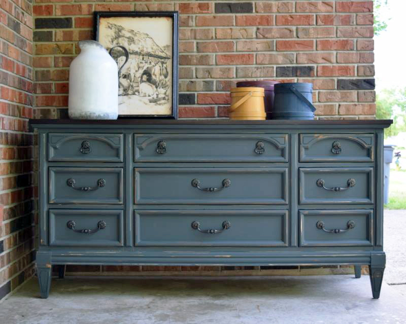 Slate Gray Dresser General Finishes Design Center