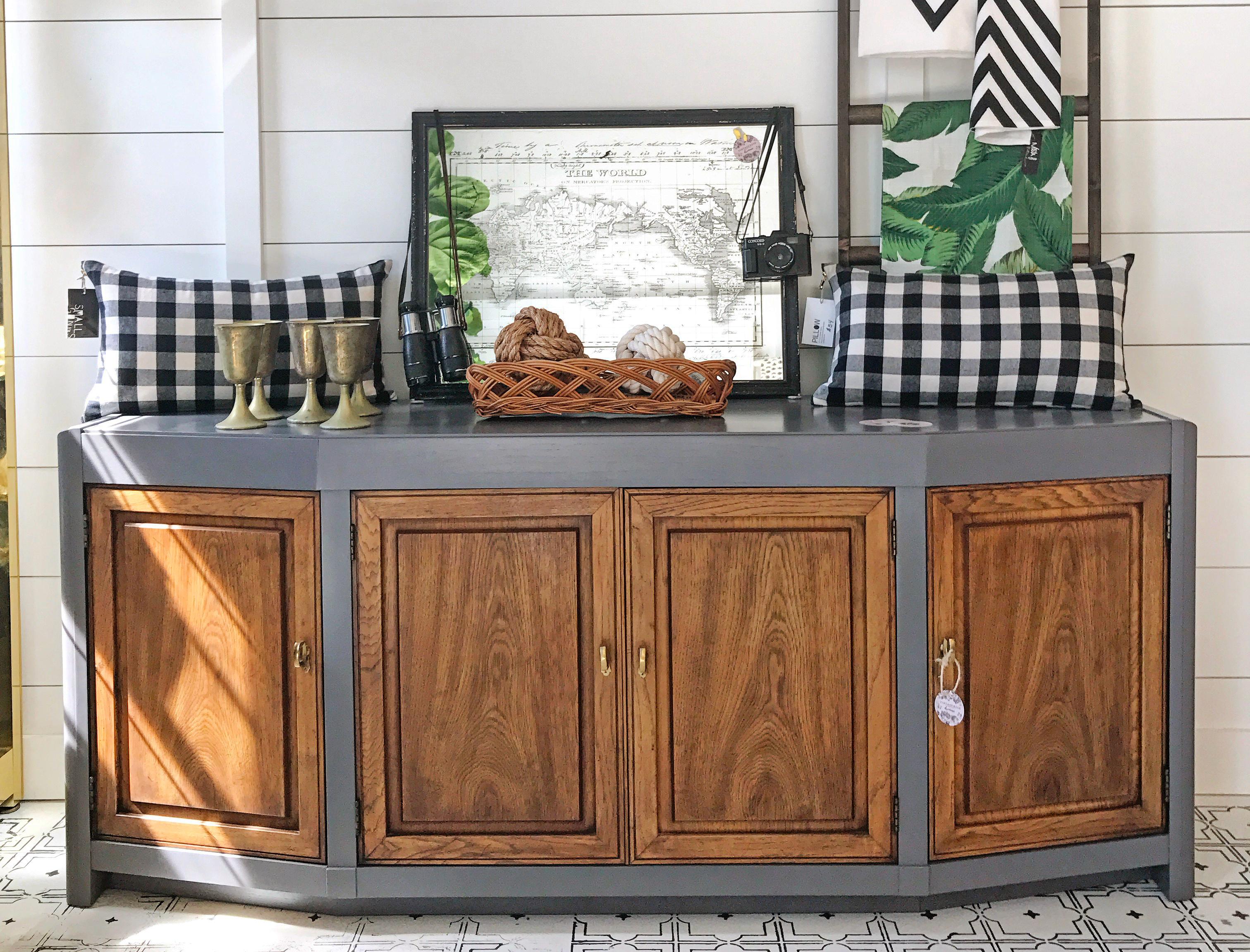 Driftwood Framed Cabinet General Finishes Design Center