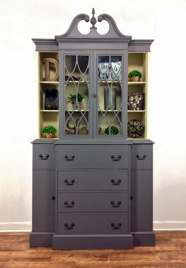 Driftwood And Linen Hutch General Finishes Design Center