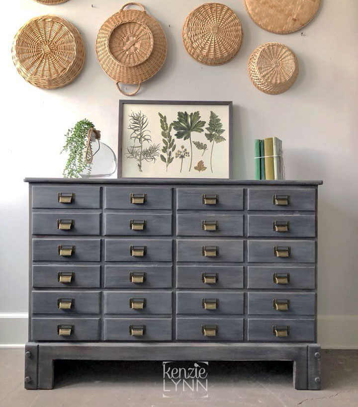 Apothecary Cabinet in Driftwood | General Finishes Design Center