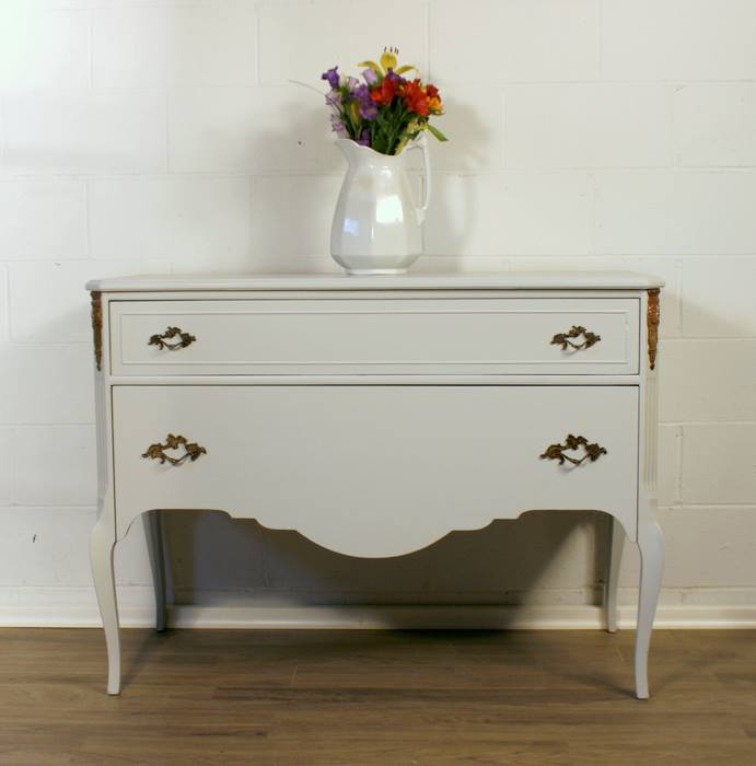 General Finishes Design Center: Buffet In Seagull Gray Milk Paint