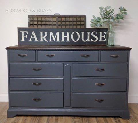 Gorgeous Dresser In Queenstown Gray Amp Java General