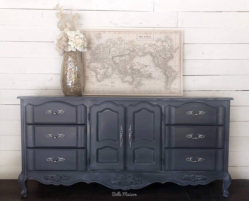 Stunning Piece Decked In Queenstown Gray & Winter White