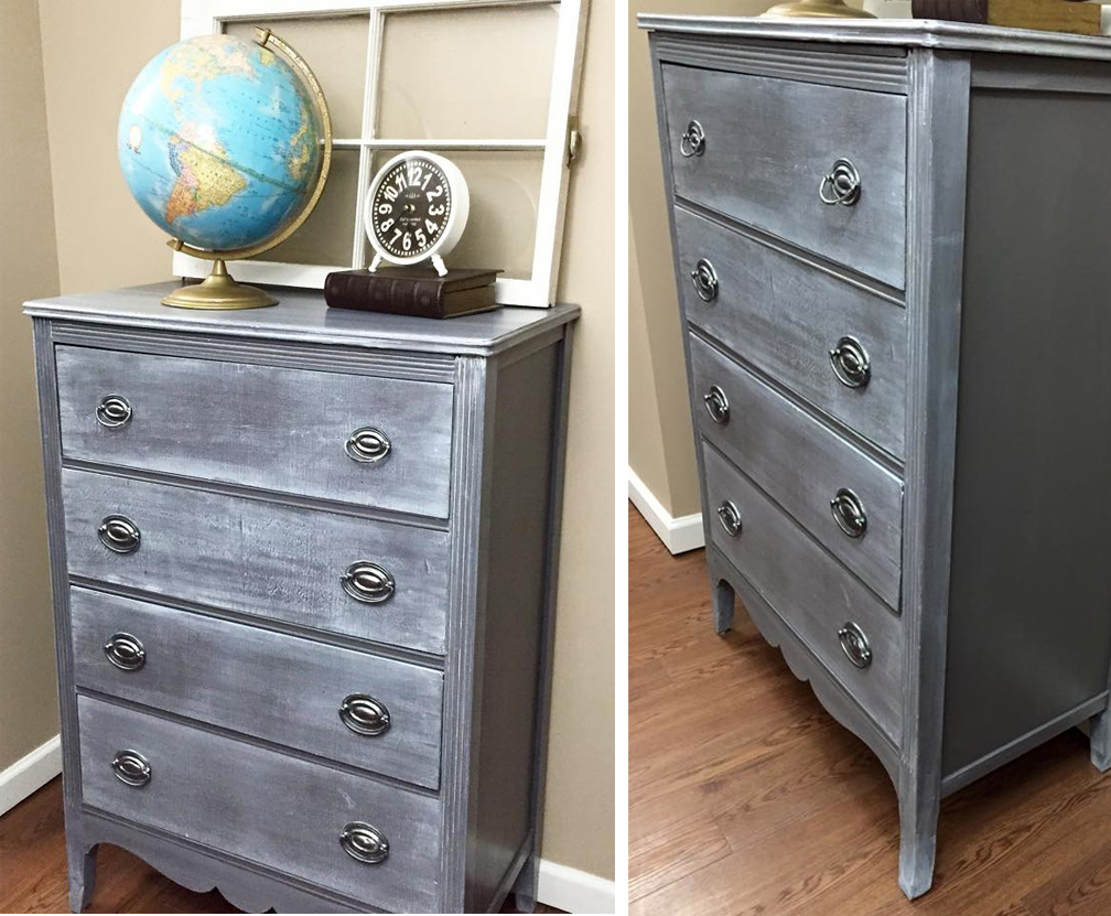Vintage Chest Restyle General Finishes Design Center