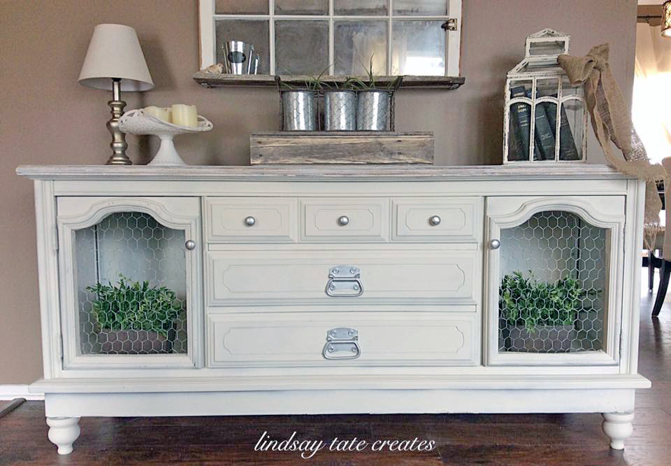 Chapin Gray Buffet General Finishes Design Center