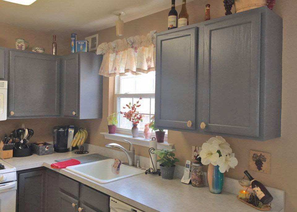 Paint Color For Kitchen With Gray Cabinets