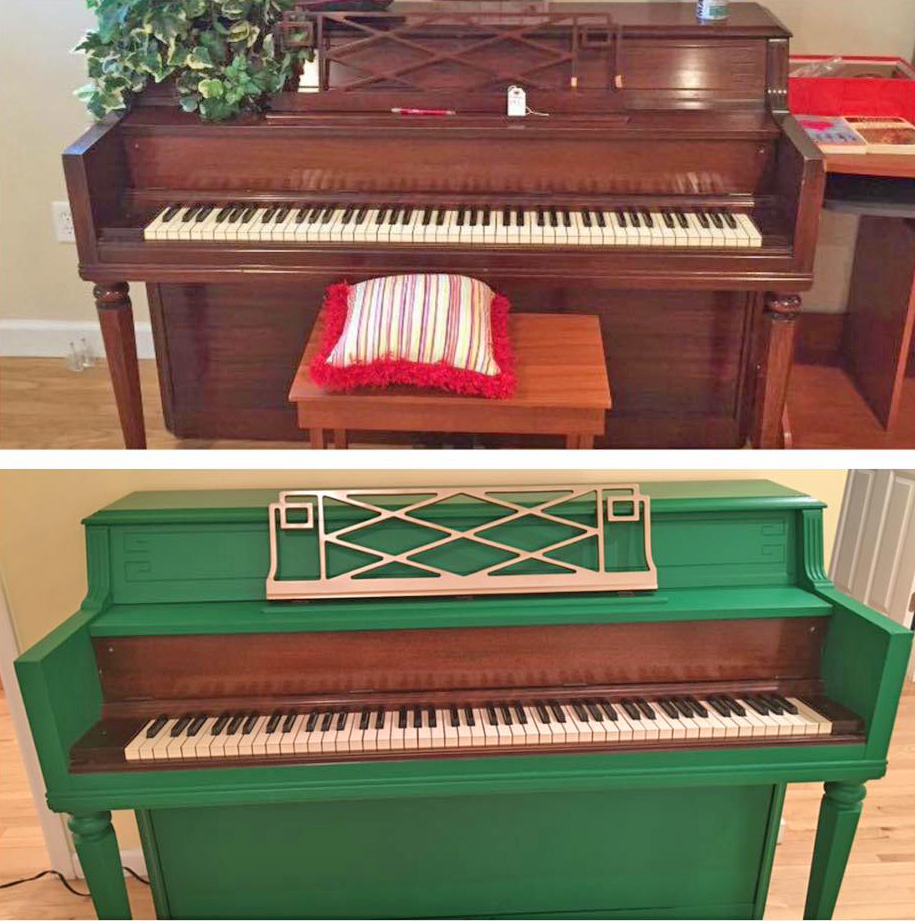 Emerald piano general finishes design center for Emerald satin paint