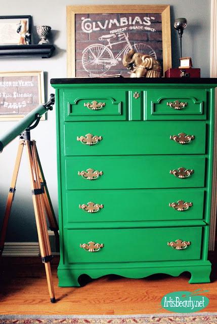 Emerald Dresser General Finishes Design Center