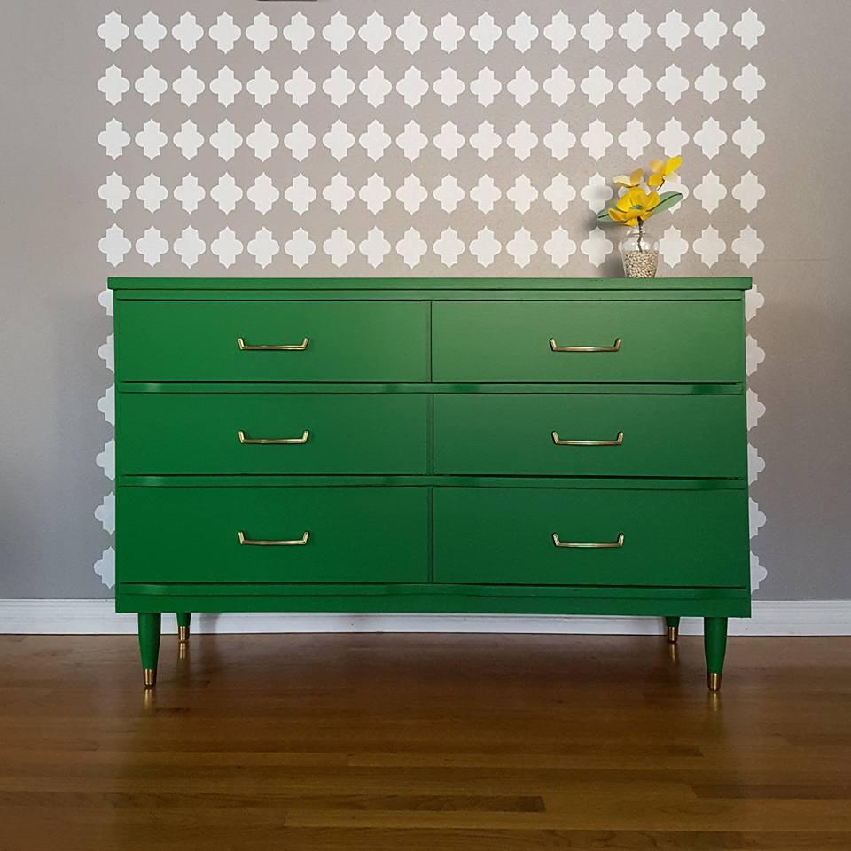 Upcycled Dresser Kitchen