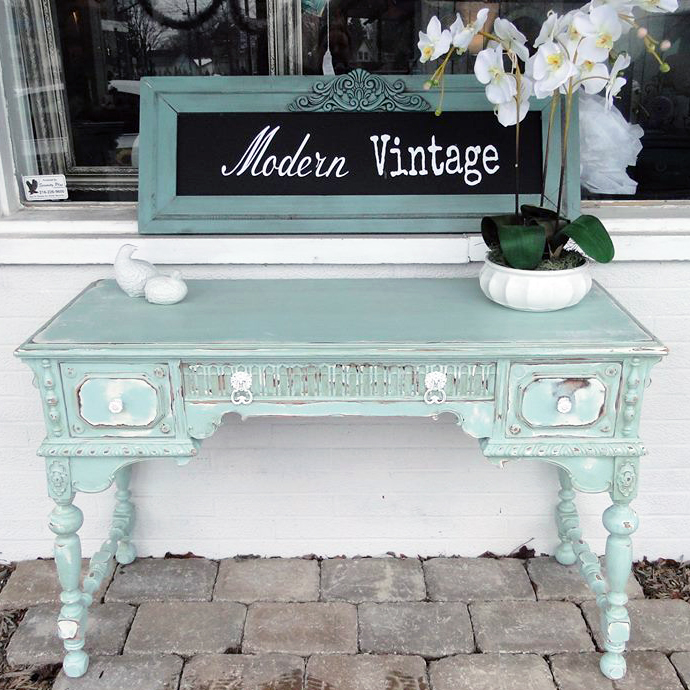 - Beachy Mint Cottage Style Desk General Finishes Design Center