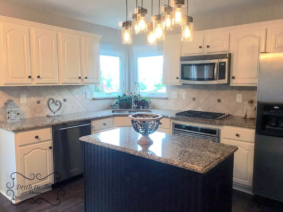 Alabaster Kitchen Cabinet Makeover | General Finishes Design ...