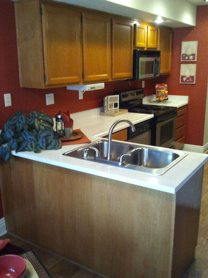 Kitchen Makeover In Espresso Water Based Wood Stain