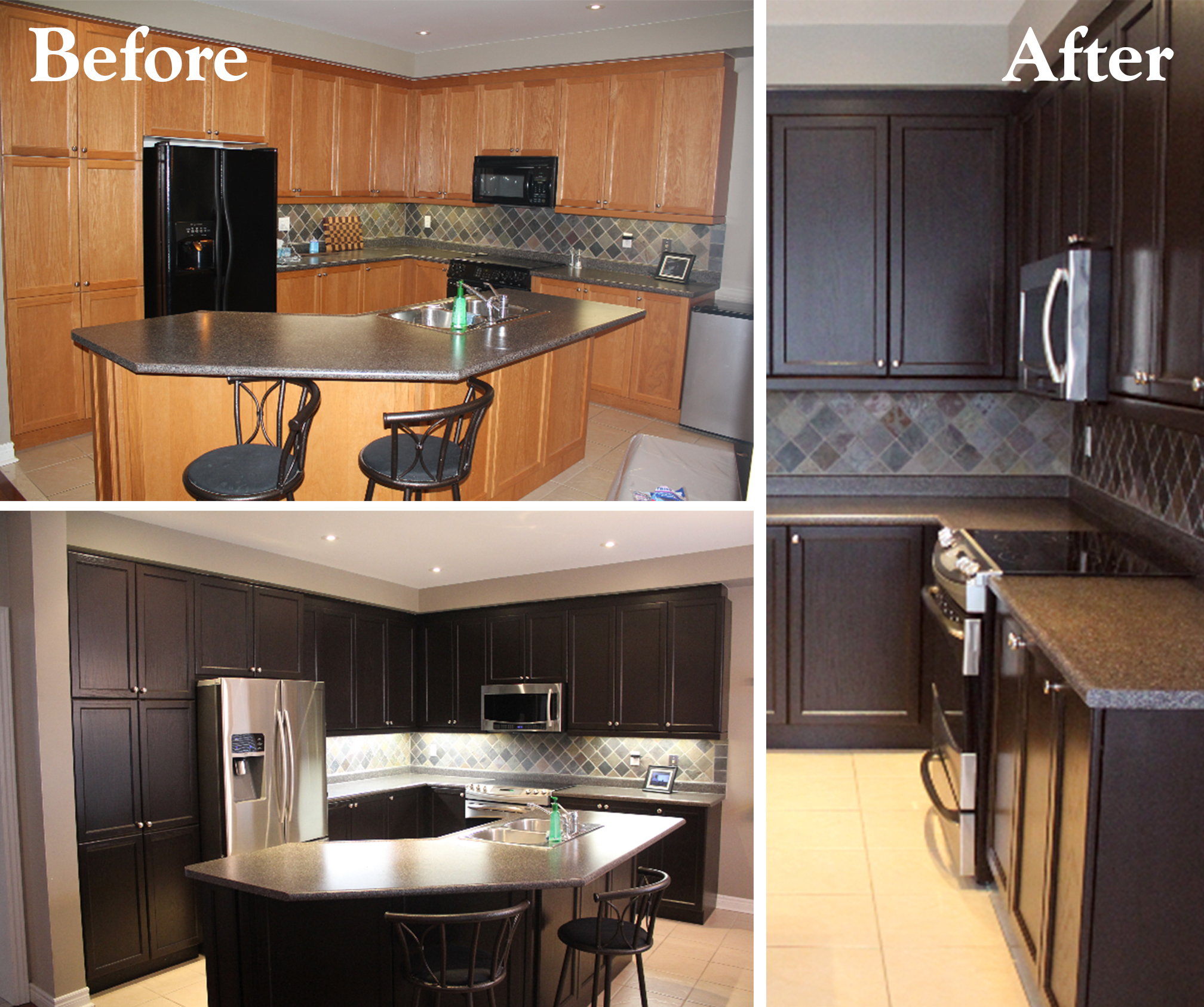 Java Gel Stain Cabinet Refresh General Finishes Design