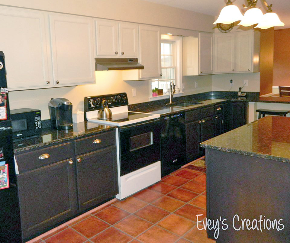 Two Toned Kitchen Makeover Millstone