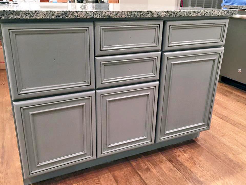 custom color kitchen cabinet makeover general finishes design center
