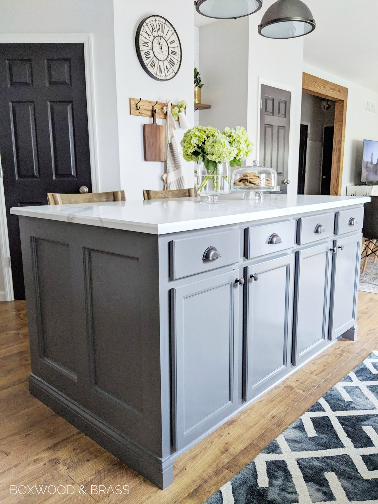Snow White Cabinets And Driftwood Island General