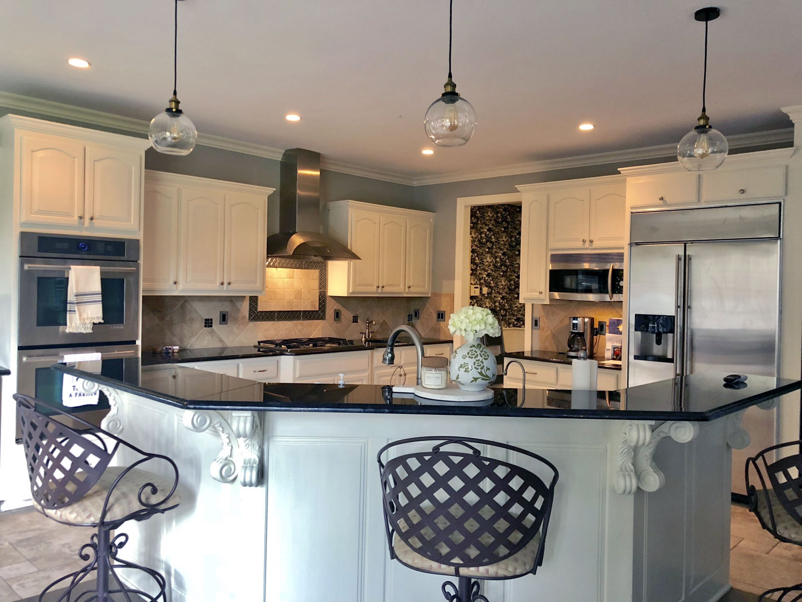 Antique White Kitchen Cabinet Makeover General Finishes