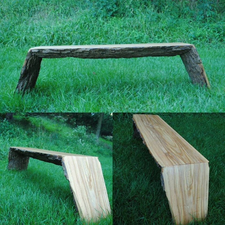 Best Finish For Live Edge Coffee Table: Live-Edge Coffee Table In Arm-R-Seal
