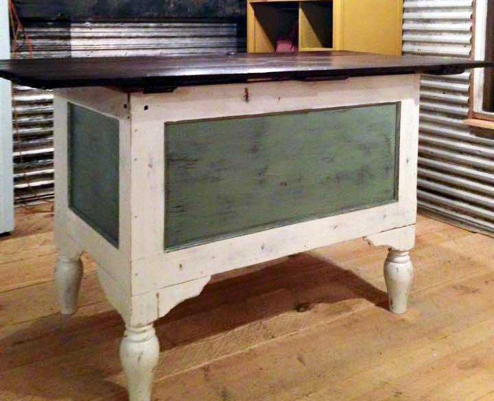 Paint Oil Or Stain Workbench Legs