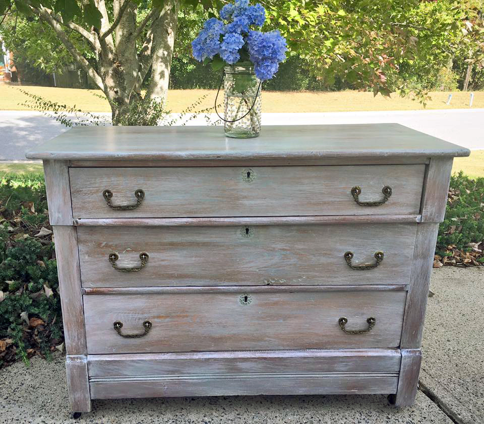 White Wash Wood Stain: General Finishes Design Center
