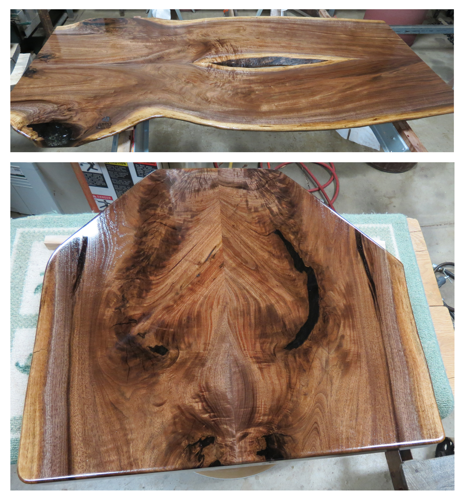 Walnut Table Top In Seal A Cell And Arm R Seal Top Coat
