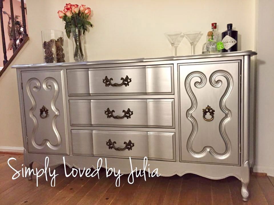 Buffet in GF Argentine Pearl Effects | General Finishes Design Center