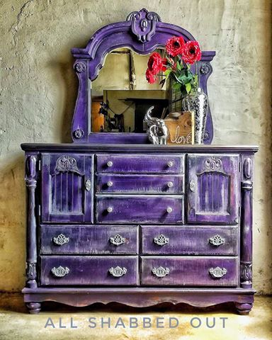 Royal Purple Dresser General Finishes Design Center