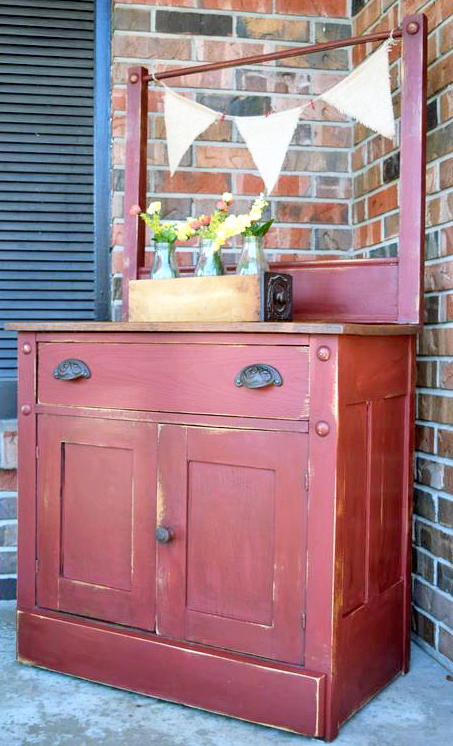 Tuscan Red Dry Sink General Finishes Design Center