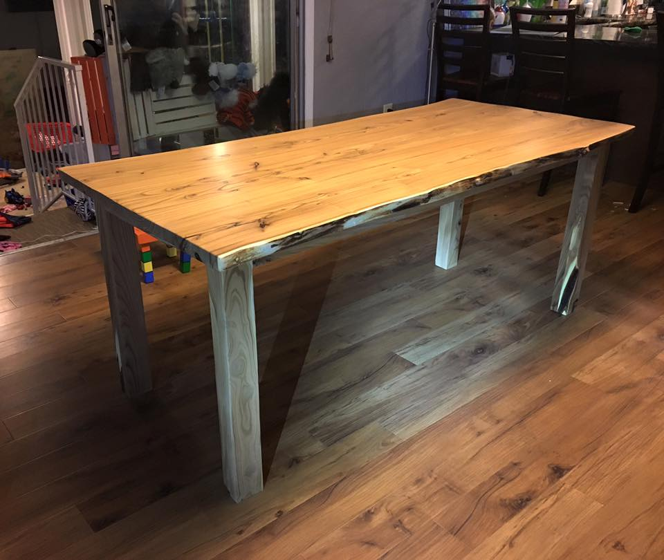 Custom Built Table in High Performance Semi Gloss Top Coat General