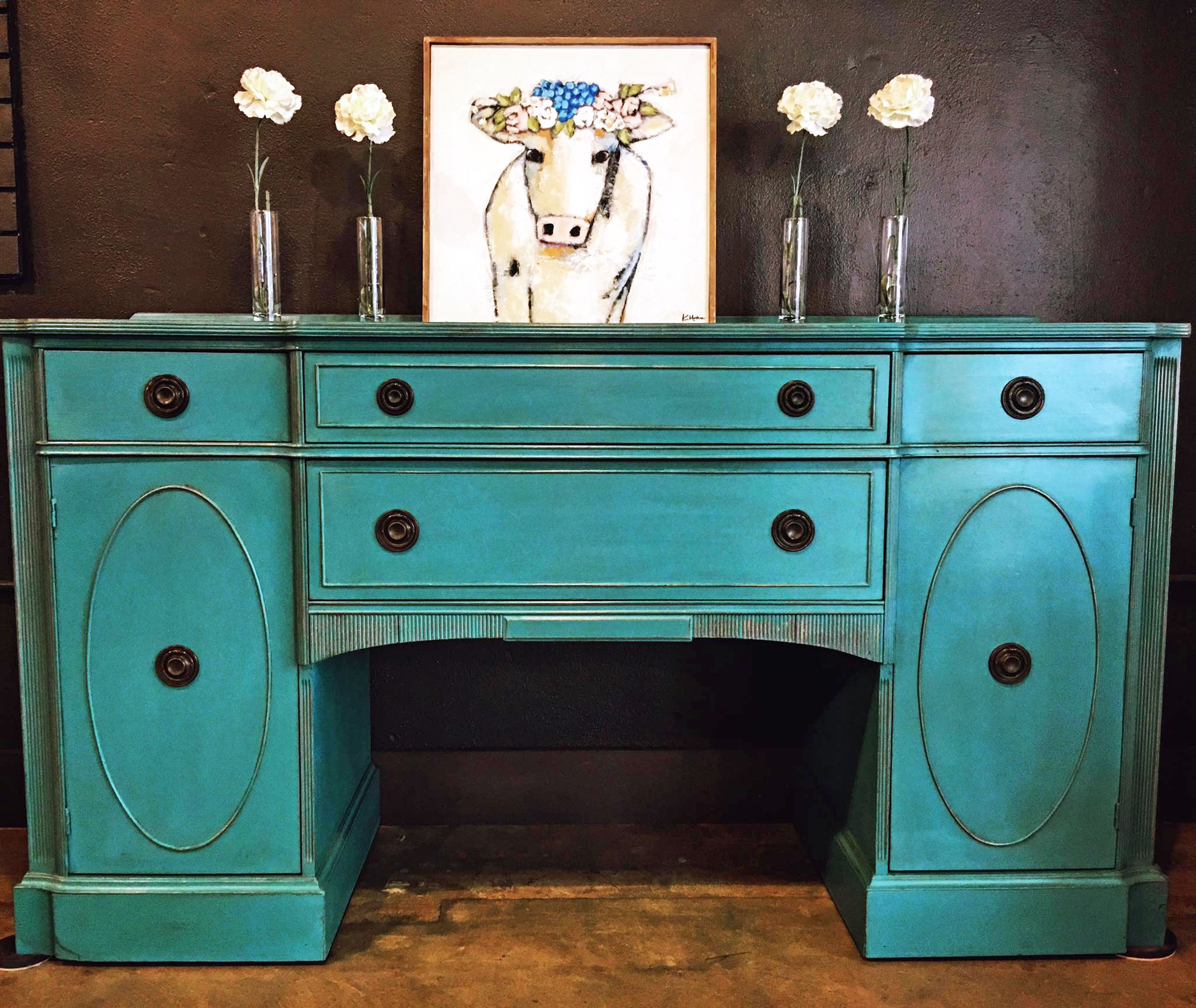 Turquoise Sideboard General Finishes Design Center