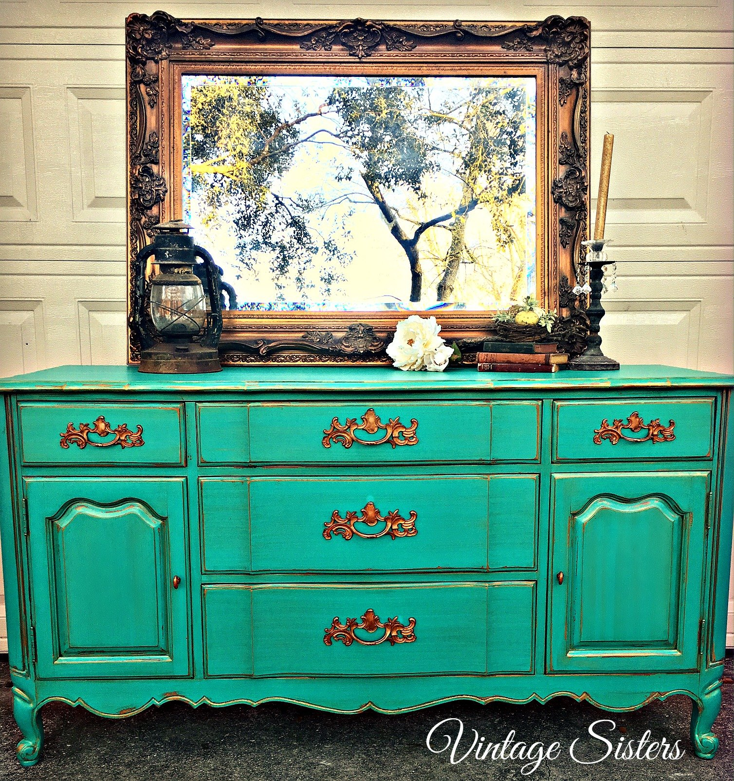 Buffet In Patina Green Amp Tawny Pearl General Finishes