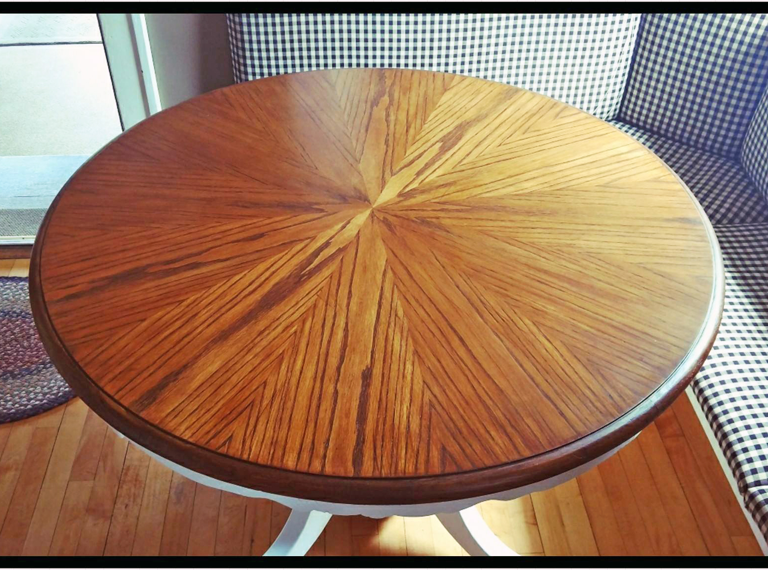 Water based wood stains general finishes shaker maple water based wood stained table top nvjuhfo Image collections