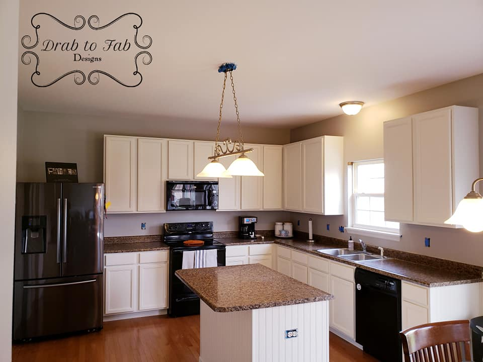 Antique White Kitchen Cabinet Makeover | General Finishes ...