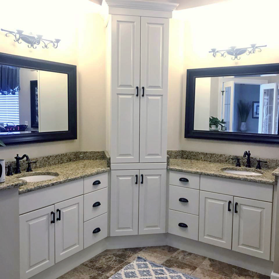 Antique White Bathroom Cabinets, Antique White Bathroom Cabinets