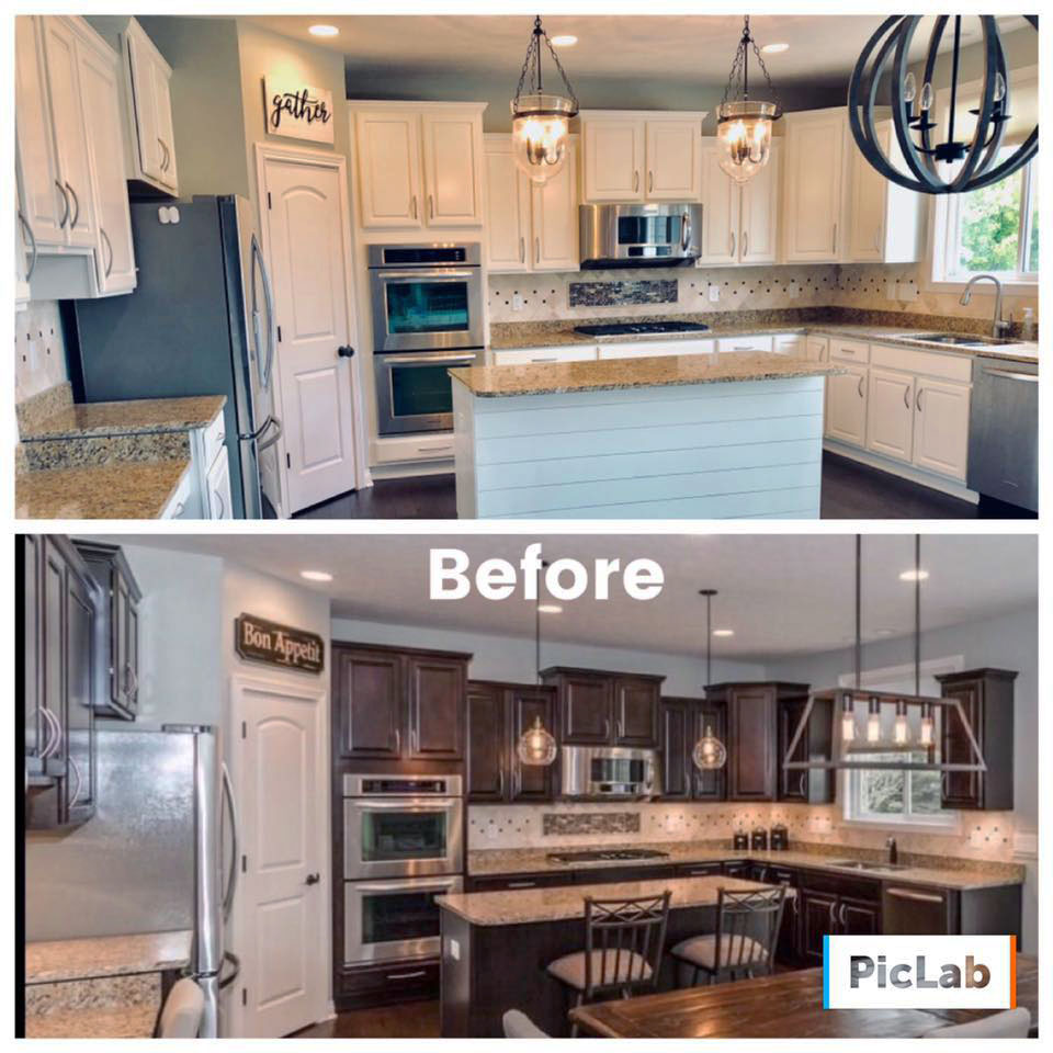 Alabaster Kitchen Cabinet Transformation General Finishes Design Center