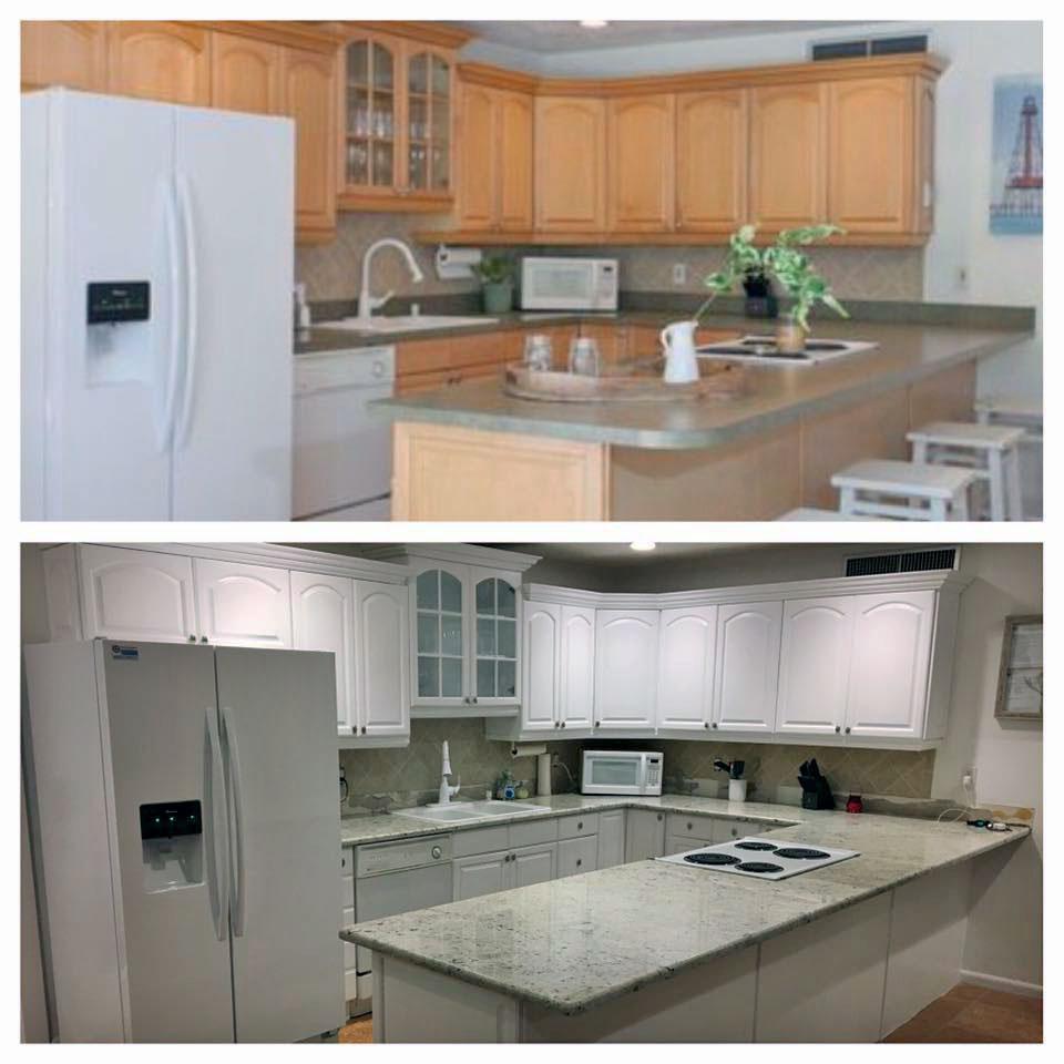 Snow White Kitchen Transformation